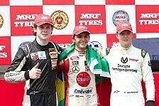 Mick Schumacher mit Doppelsieg beim Saisonauftakt der MRF Challenge in Bahrain