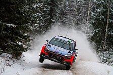 WRC - Video: Paddon: Aussichtsloser Kampf gegen Ogier um Schweden-Sieg