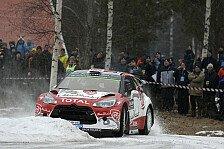 WRC - Video: Citroen in Schweden: Zwischen Frustration und Genugtuung