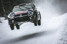 WRC - Rekord-Sieg für Ogier bei der Rallye Schweden