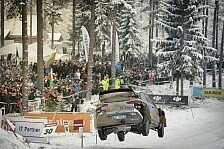 WRC - Video: Best of Slow-Motion bei der Rallye Schweden