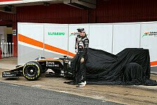 Formel 1 - Zielscheibe Williams: Force India pr�sentiert den VJM09 f�r 2016