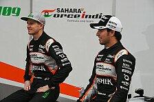 Formel 1 - Das bringt die Zukunft für Perez und Hülkenberg