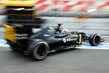 Formel 1 - Renault und McLaren: Gegensätze beim ersten Test