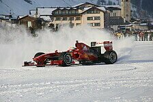 Formel 1 - Video: Ferrari Snow Run: Der F60 in Action