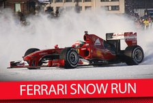 Formel 1 - Video: MSM TV: Ferrari Snow Run mit Fisichella