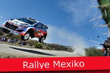 WRC - Ticker: News-Splitter von der Rallye Mexiko