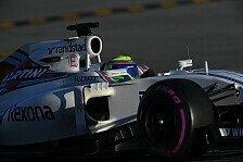 Formel 1 - Zweite Kraft: Williams will 2016 hoch hinaus