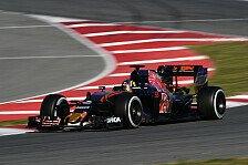 Formel 1 - Sainz erwartet 2016 kein Podium für Toro Rosso