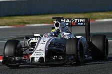 Formel 1 - WM-Vorschau 2016 - Williams: Die große Unbekannte