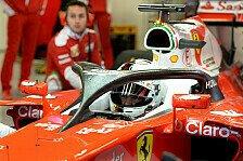Formel 1 - Vettel zu Halo: Lieber hässlich als tot