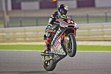 Moto2 - Katar-Bestzeit: Folger bügelt Cortese auf Anhieb