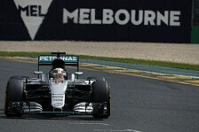 Formel 1 - 50. Pole f�r Hamilton in Chaos-Quali!: Live-Ticker: Australien GP-Qualifying in Melbourne