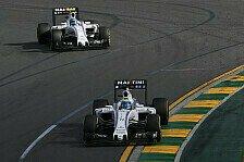 Formel 1 - Williams in Bahrain: Großes Zittern vor Toro Rosso