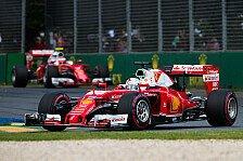 Formel 1 - Reifenwahl für den China GP 2016
