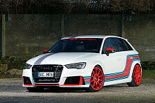 Auto - Audi RS3 im Martini-Design
