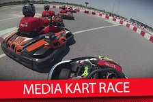 Formel 1 - Video: MSM TV: Media Kartrennen vor dem Bahrain GP