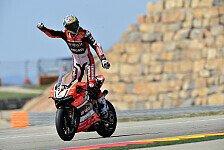 Superbike - Rennen 2: Davies in Aragon unschlagbar