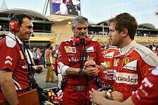 Formel 1 - Arrivabene-Rauswurf? Bullshit für Vettel