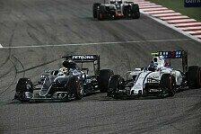 Formel 1 - Bottas gibt auf: Mercedes und Ferrari weit weg