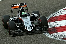 Formel 1 - Neuer Look, neue Chance: Force India in Spanien: Update f�r Hulk und Perez