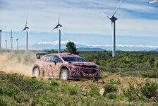 WRC - Video: Citroen absolviert ersten Test mit 2017er Boliden