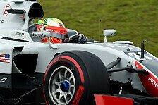 Formel 1 - Haas: Reifendrücke sorgten in China für Probleme