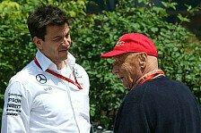 Angst um Niki Lauda: Nachricht von Mercedes-Teamchef Toto Wolff