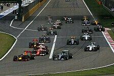 Formel 1 - Rosberg gewinnt verrückten China GP vor Vettel