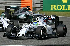 Formel 1 - Massa & Bottas in Shanghai mit blasser Vorstellung: Williams ohne Heldentaten: Stagnation statt Podium