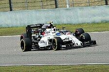 Formel 1 - Williams in Russland: Hoffen auf Sochi-Nimbus