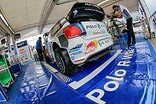 WRC - Video: Im Zeitraffer: Latvalas Crash-Auto wird repariert