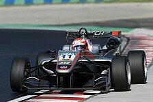 Formel 3 EM - Mazepin für Rennen 1 in Ungarn gesperrt