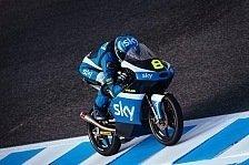Moto3-Test in Jerez: Rossi-Pilot Bulega setzt sich durch, Philipp Öttl weit weg