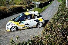 Rallye - Opel-Werkspiloten in Zwickau am Start