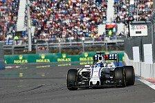 Formel 1 - Williams angriffslustig: Spanien-Podium ist drin