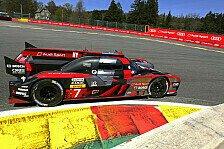 WEC - Chaosrennen in Spa: Audi stolpert zum Sieg