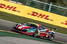 WEC - Ferrari siegt, Mücke übersteht Unfall unverletzt