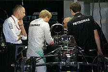 Formel 1 - Rosberg testet Silverstone-Getriebe am Freitag