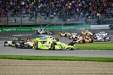 IndyCar - Video: IndyCar 2016: Die Highlights vom Rennen in Indianapolis