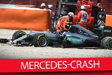Formel 1 - Video: MSM TV: Mercedes-Crash: Hamilton vs. Rosberg