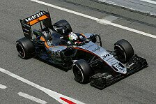 Formel 1 - McLaren dr�ckt, Haas F1 wackelt: Force India in Monaco: Attacke vs. Verteidigung
