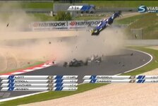Formel 3 EM - Video: Horrounfall bei der Formel 3 in Spielberg