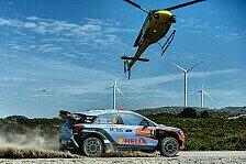 WRC - Video: Die Rallye Portugal von oben