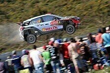 WRC - Video: Dramenreicher erster Tag in Portugal f�r Hyundai