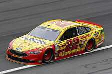 NASCAR - 1 Million US-Dollar f�r den Sieger: Logano gewinnt All-Star Race