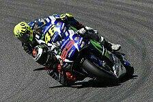 MotoGP - Yamaha in Barcelona: Rossi sinnt auf Revanche