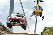 Citroen-Trio bei Rallye Finnland, erster Asphalttest mit 2017er Bolide