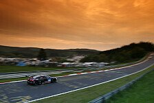 24 h N�rburgring - Video: Audi R8 fliegt am N�rburgring ab