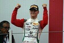 Mick Schumacher kämpft beim Saisonfinale der italienischen Formel 4 um den Titel